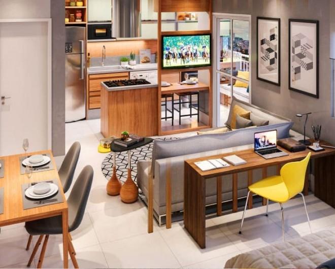 condominio-clube-park650-living-apto-tipo-42-87-M2-cozinha-americana-com-ilha-1
